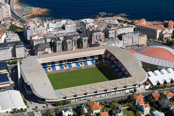 "Стадион ""Риасор"" (Estadio Municipal de Riazor), Ла Корунья"