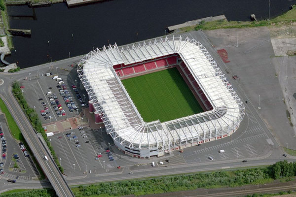 "Стадион ""Риверсайд"" (Riverside Stadium), Мидлсбро"